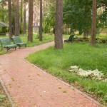 территория санатория Лесная сказка