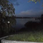 Набережная Лесной сказки ночью