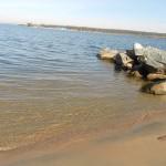 Песочный пляж пансионат Лесная сказка