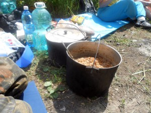 Гречка, приготовленная на костре
