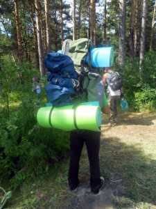 Гид с рюкзаком