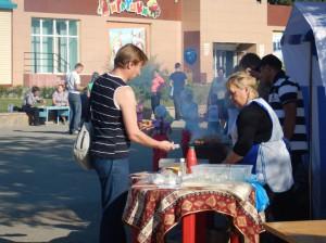 Шашлыки от гостей из Армении