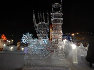 Ледовый городок 2015