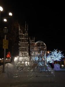 Саруман - ледовый городок Новосибирска 2015
