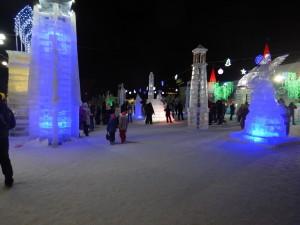 Ледовый городок 2015 Новосибирск