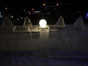 Новосибирск - ледовый городок