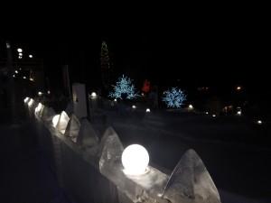 Новосибирск 2015 - ледовый городок
