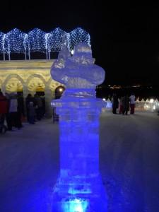 Гном, Новосибирск ледовый городок 2015