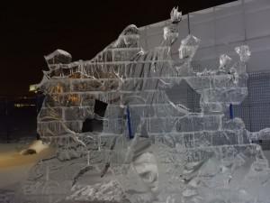 Экспозиция ледовый городок