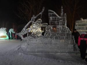 Экспозиция ледовый городок 2015