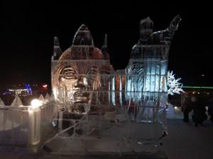 Экспозиция ледовый городок Новосибирска 2015