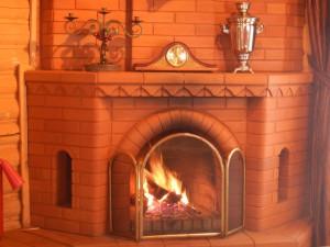 Усадьба Эдельвейс: коттедж, каминный зал