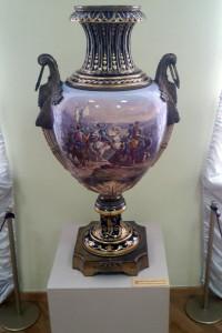 Французская ваза, XVIII век.