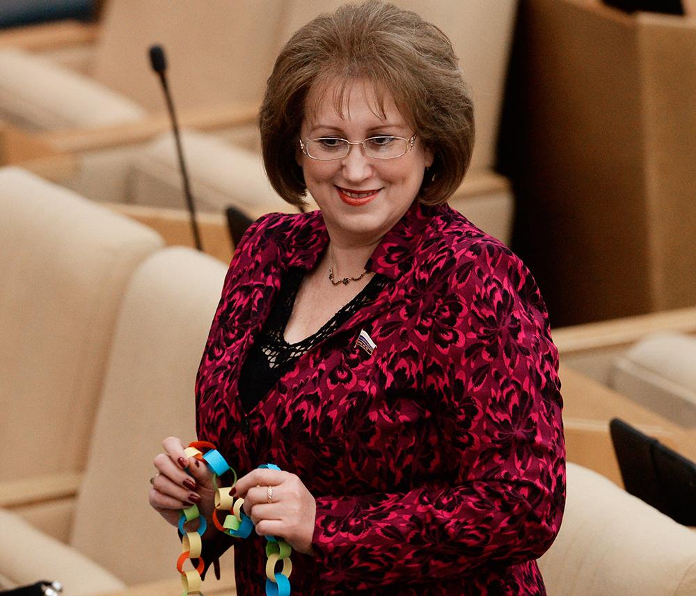 Депутат Госдумы Ганзя Вера Анатольевна